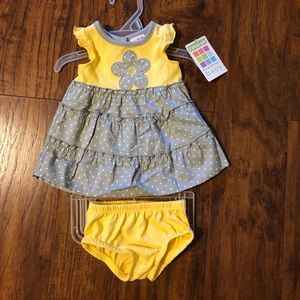 Healthtex Baby Girl Summer Outfit NEW!